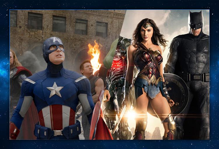 As equipes de super-heróis