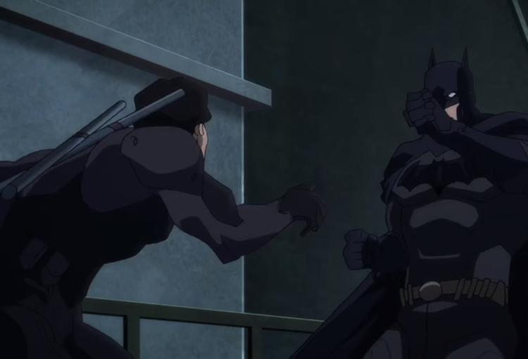 Asa Noturna contra Batman