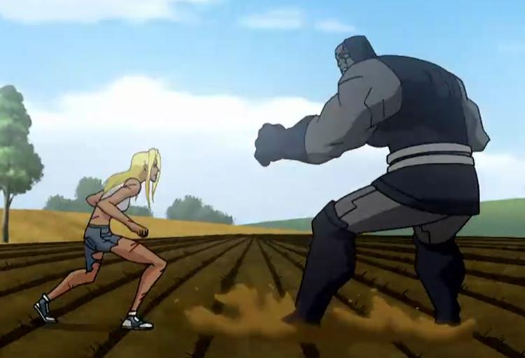 Supergirl enfrenta Darkseid
