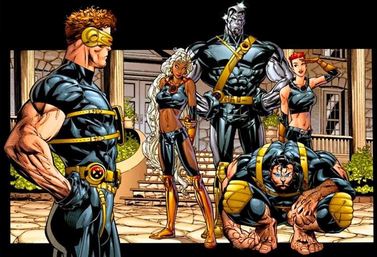 Os primeiros X-Men