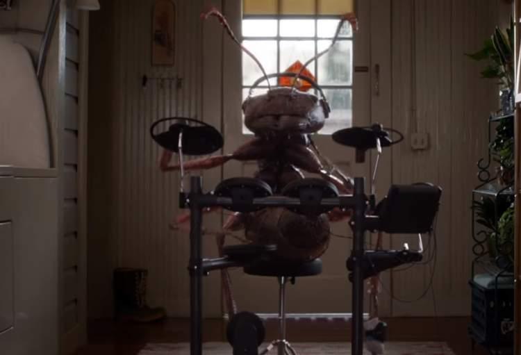 Resultado de imagem para formiga tocando bateria homem formiga