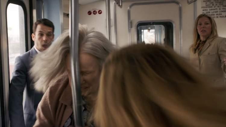 Luta no trem