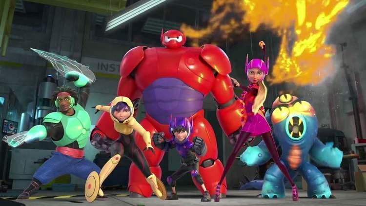 Operação Big Hero (Big Hero 6, 2014)
