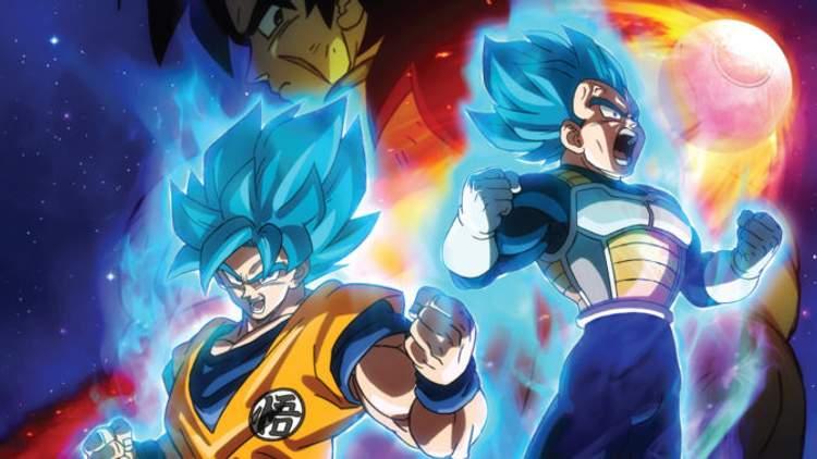 Goku e Vegeta fazendo o que sabem melhor
