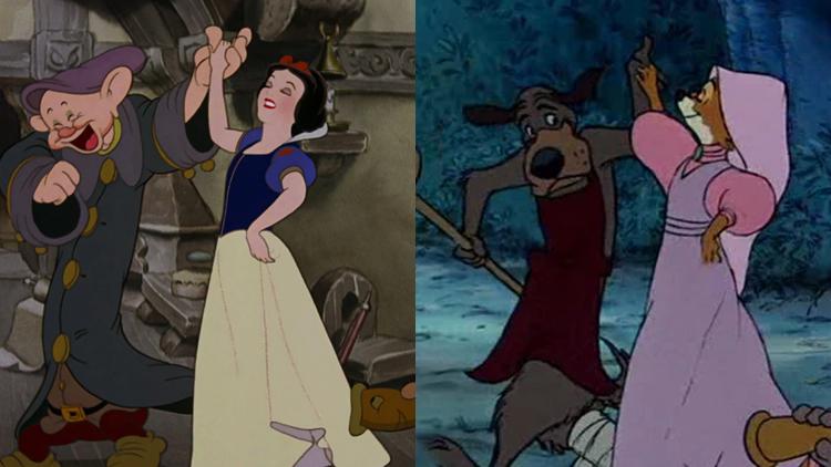 Branca de Neve e os Sete Anões / Robin Hood