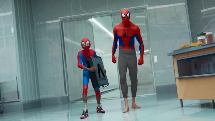 Peter Parker como mentor