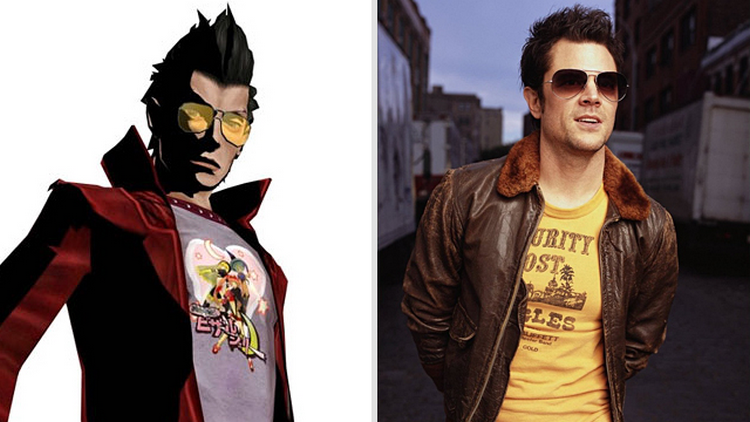 Johnny Knoxville e Travis Touchdown