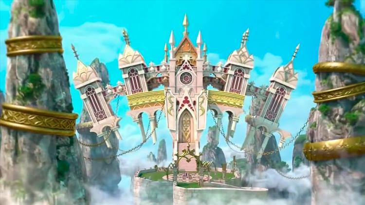 Aqua e Sora no Castle Oblivion