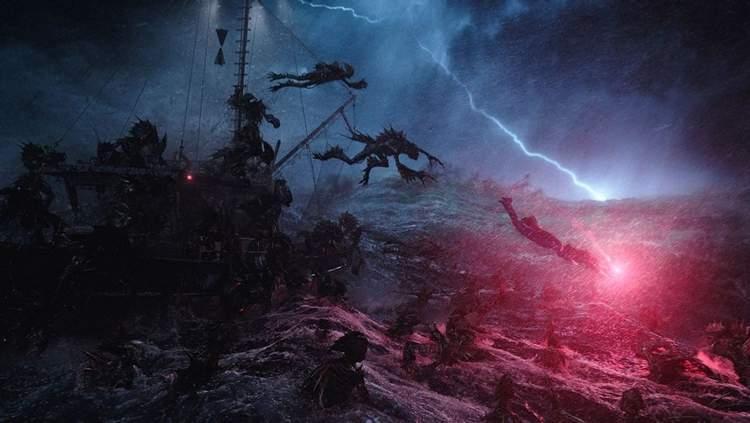 Para se Empolgar: A cena do filme que apresenta as criaturas é muito boa.
