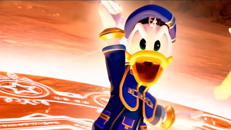Donald soltando Zettaflare