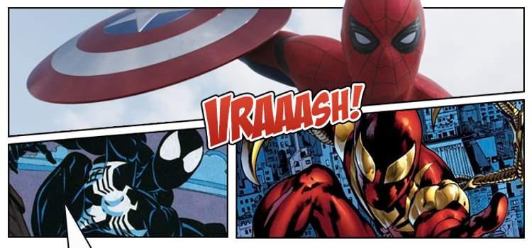 A evolução dos trajes do Homem-Aranha!