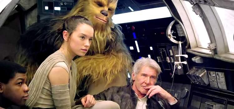 Star Wars: Episódio VIII – Vídeo mostra Millennium Falcon e possível templo Jedi!