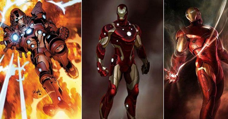 Conheça Mais De 50 Armaduras Do Homem De Ferro Legião Dos Heróis