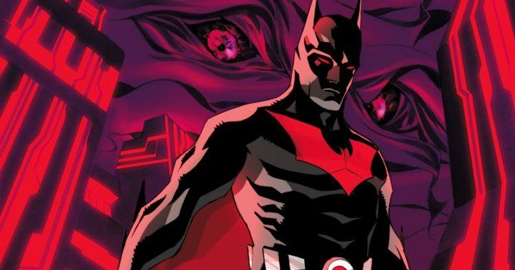 Resultado de imagem para batman with a batman beyond uniform
