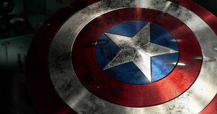 Papel De Parede Do Capitao America: Escudo Do Capitão América é Testado Contra Munição Real