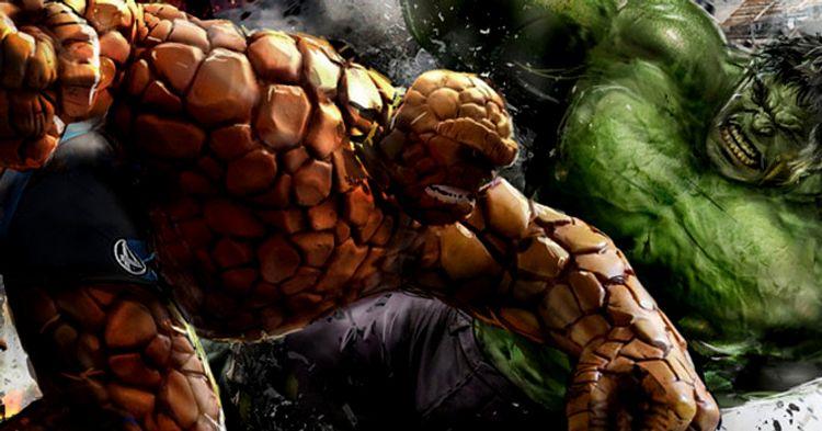 Resultado de imagem para hulk vs coisa