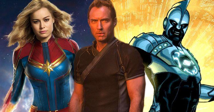 0fc4e56883d Será que Jude Law vai interpretar o grande vilão de Capitã Marvel ! - Legião  dos Heróis