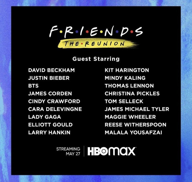 Friends | Episódio especial ganha teaser e data de estreia