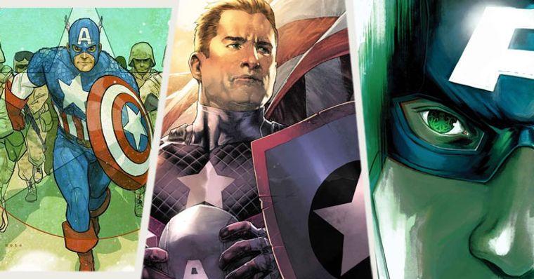 Os 10 Melhores Discursos Do Capitão América Nos Quadrinhos