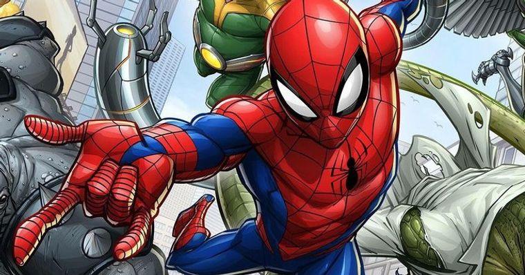 Homem Aranha Liberada A Primeira Imagem Oficial Do Novo Desenho