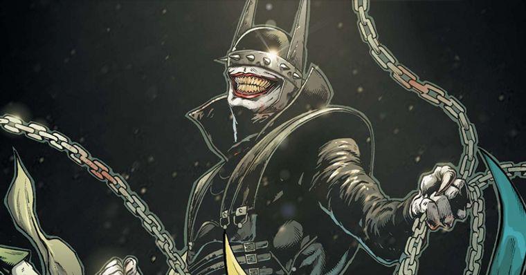 Batman Metal Artista Mostra Como Seria O Batman Que Ri Em Live