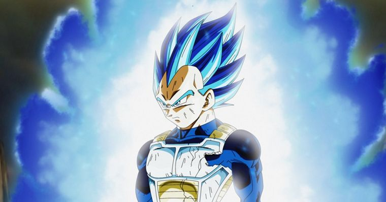 Dragon Ball Super Vegeta Alcança Uma Forma Acima Do Super Saiyajin Blue