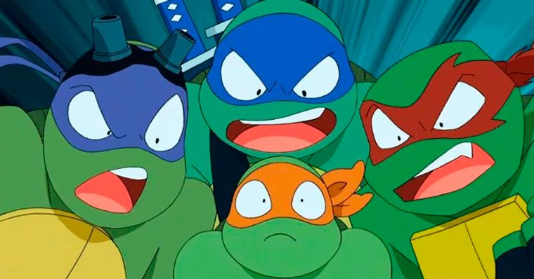 Tartarugas Ninja Novo Desenho Dos Herois Ganha Primeira Imagem