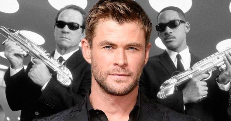 Mib Homens De Preto Chris Hemsworth Aparece Nas Primeiras