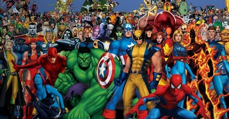 Diagrama Incrível Mostra Quais Personagens Da Marvel São