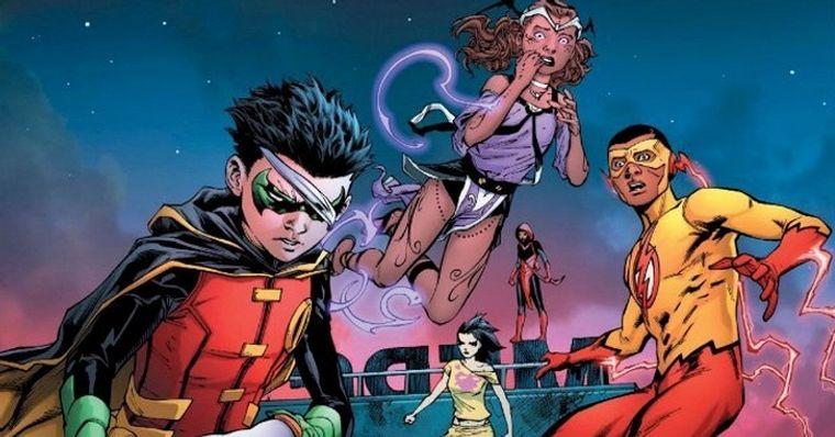 Os Jovens Titas Dc Comics Mata Grande Vilao Em Nova Hq