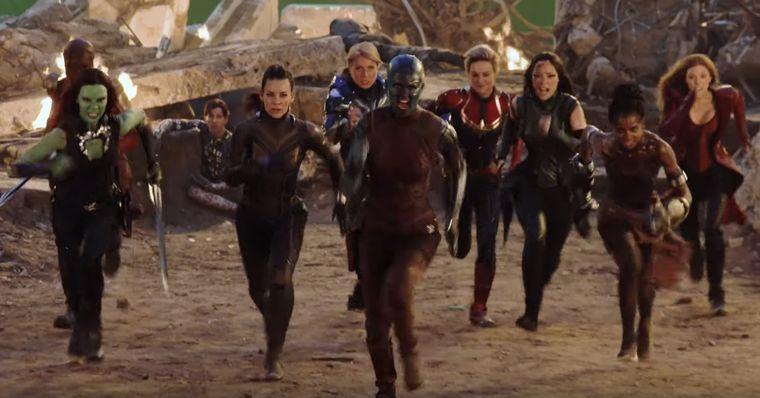Vingadores: Ultimato - Atrizes falam sobre como foi gravar cena importante com as heroínas reunidas!