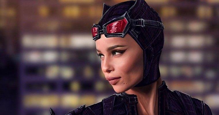 Zoë Kravitz fala sobre sua preparação para a Mulher-Gato em The Batman