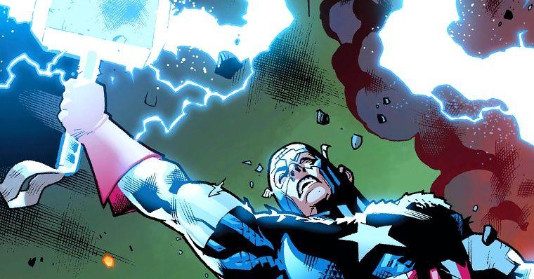 Capitão América levanta martelo do Thor em nova HQ