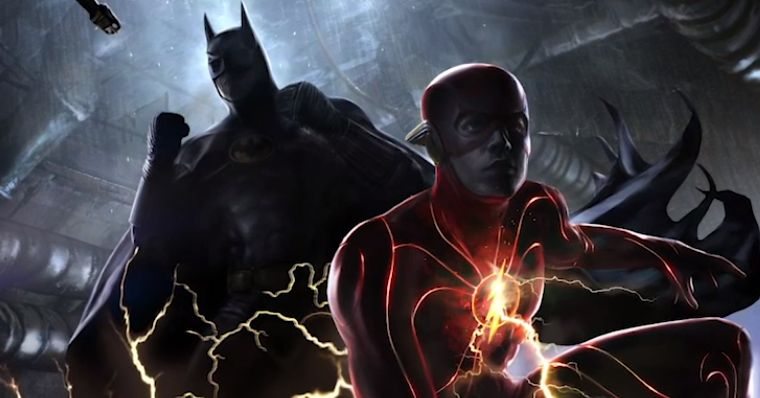 The Flash; Michael Keaton; Batman; BatKeaton