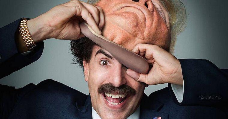 Borat 2 é o segundo filme mais assistido no streaming em 2020