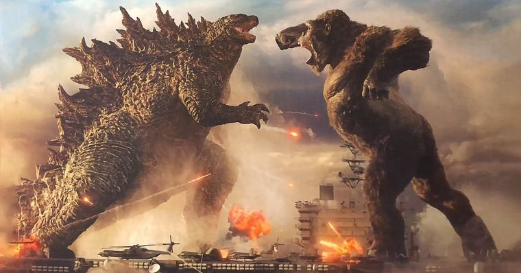 Godzilla vs Kong tem data de lançamento adiantada